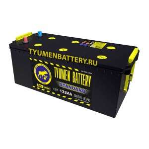 АКБ 190Ач ток 1300 518/228/236 Tyumen Battery Standard п/п (болт)