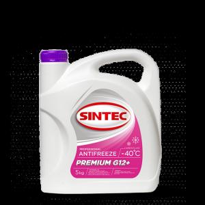 Антифриз Sintek Premium малиновый G12+ 5кг