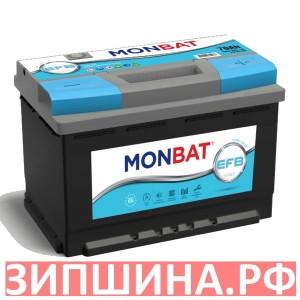 АКБ A70R680SS 278x175x190 L3-B13 SMF  ENT MONBAT EFB