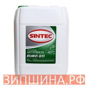 Антифриз G11 SINTEC EURO зеленый 10 кг
