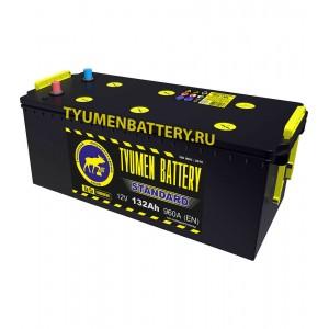 АКБ 190Ач, ток 1300, 518*228*236 Tyumen Battery Standard п/п (конус)